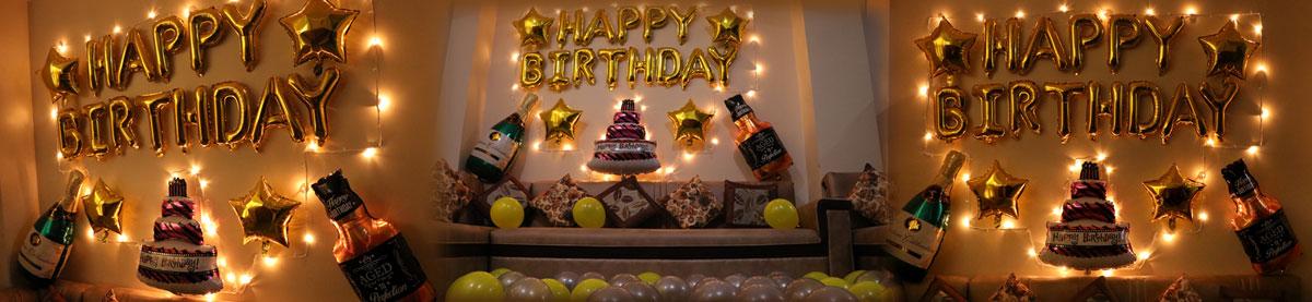 Whiskey and Champagne Birthday Bash