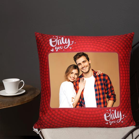 Only You Personalized Cushion