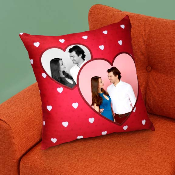 Loving Heart Personalized Cushion