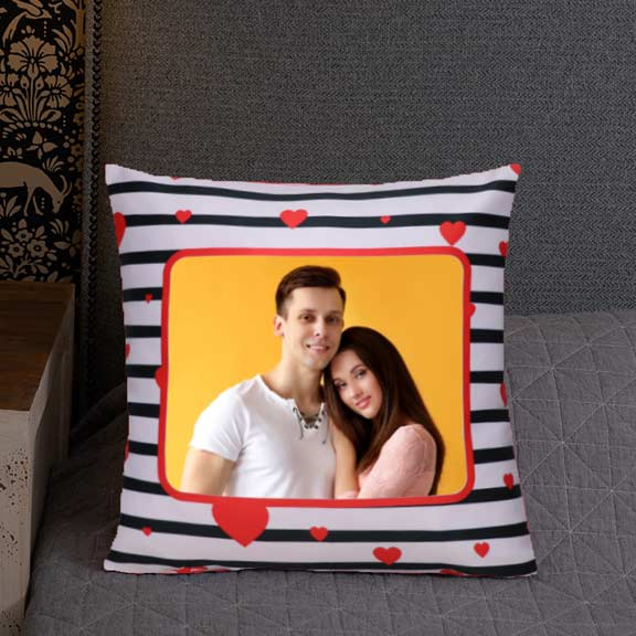 With You Forever Personalized Cushion
