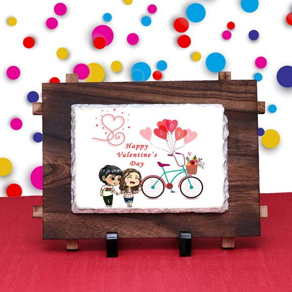 Valentine Day Wishes Tile for Couple