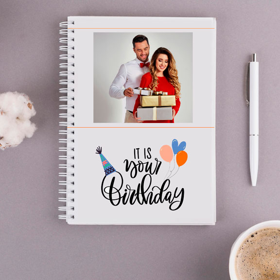 Its Your Birthday Personalized Notebook