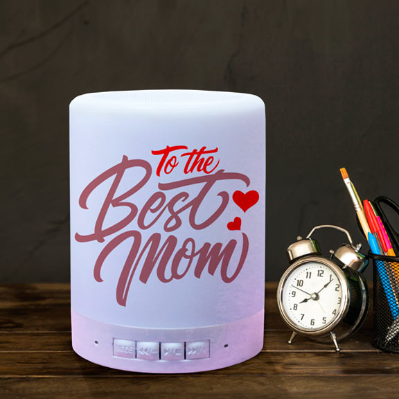 To the Best Mom Personalized BT Speaker