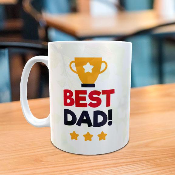 Personalize Best Dad Mug