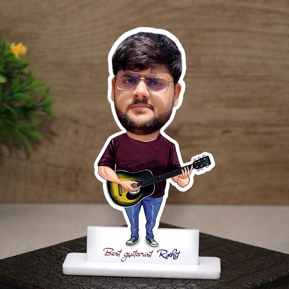 Best guitarist Personalized Caricature
