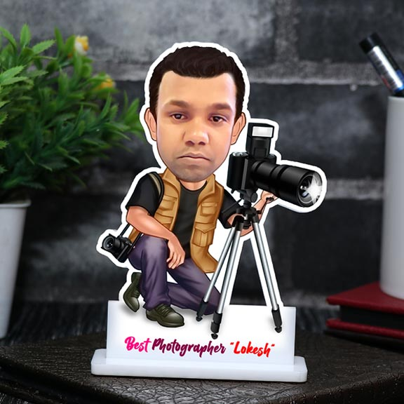 Best Photographer Personalized Caricature