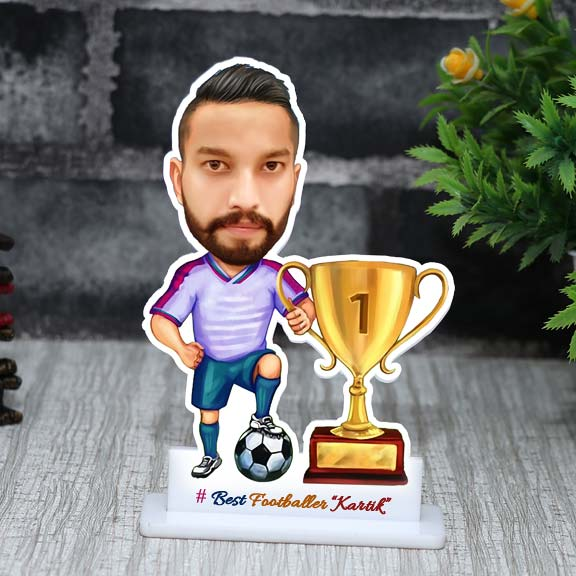Best Footballer Personalized Caricature