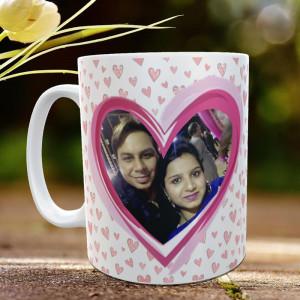 Heart to Heart Personalized Mug
