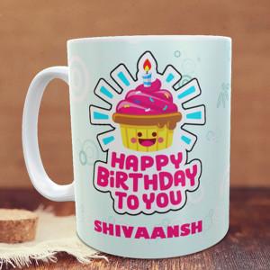 Happy Birthday Personalized Mug