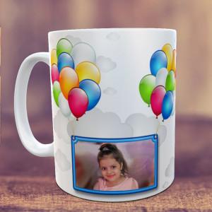 Birthday Balloons Personalized Mug
