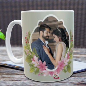 Cute Couple Anniversary Personalized Mug