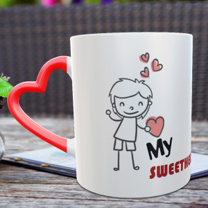 My Sweetheart Personalized Mug