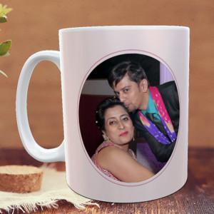 Flower Petals Personalized Mug