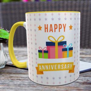 Happy Anniversary Personalized Mug