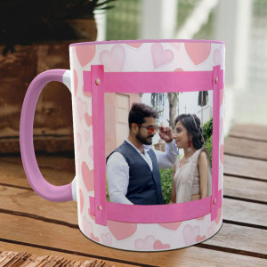Love Petals Personalized Mug