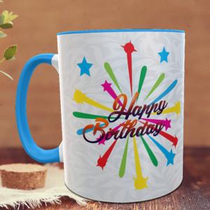 Star Birthday Personalized Mug