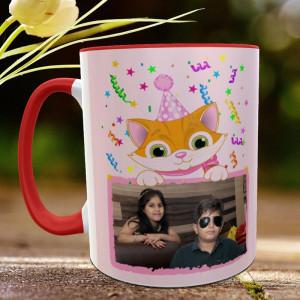 Kids Happy Birthday Personalised Mug