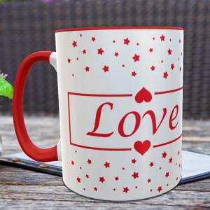 Love Star Personalized Mug