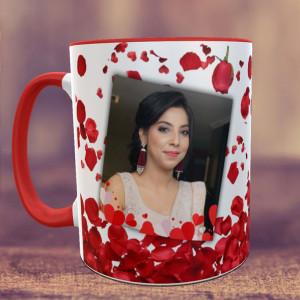 Rose Petals Personalized Mug