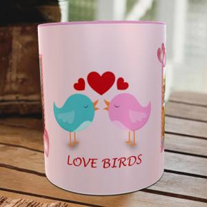 Love Birds Couple Personalized Mug