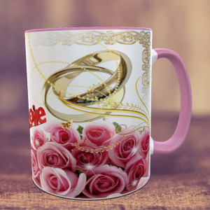 Gold Love Personalized Mug