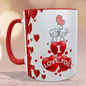 Loving Hearts Personalized Mug
