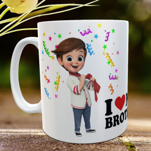 Personalized Cute Brother Mug