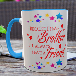 My Brother is My Friend Personalized Mug