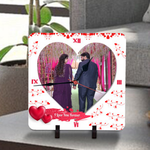 I Love You Forever Personalized Clock