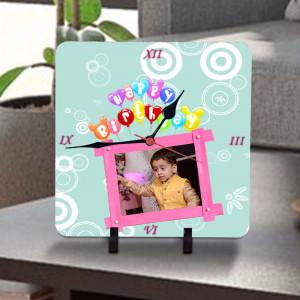 Birthday Wishes Personalized Clock