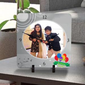 Personalized Birthday Wishes Clock