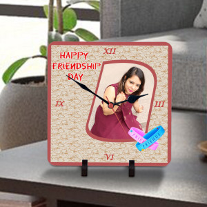 Friendship Day Personalized Clock