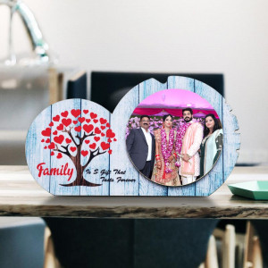 Personalized Family Wooden Photo Frame