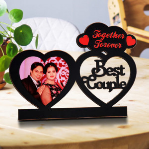 Personalized Together Forever Wooden Photo Frame