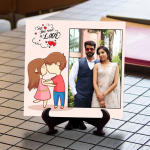 All You Need Love Personalized Tile