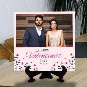 Valentine Day Wishes Personalized Tile
