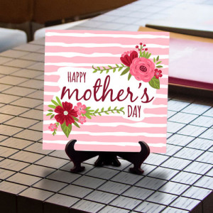 Happy Mothers Day Wishes Tile