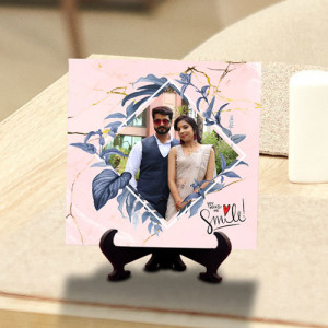 You Make me smile Personalized Tile