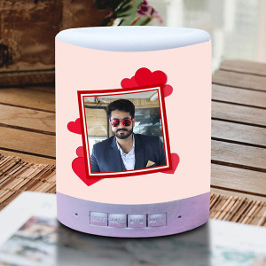 Personalized Forever Love Touch Lamp Speaker