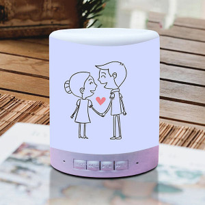 I Love You Personalized Bluetooth Lamp Speaker
