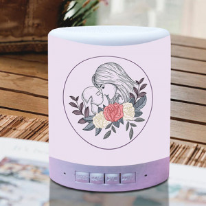 Personalized Mothers Day Wishes Lamp Speaker