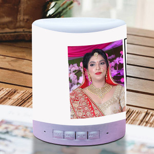 You Make Me Smile Personalized Lamp Speaker