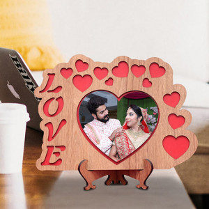 Love Personalized Wooden Frame