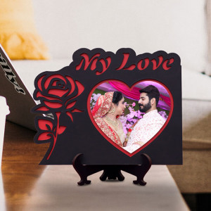 My Love Personalized Wooden Frame