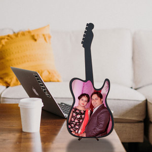 Personalized Guitar Wooden Frame
