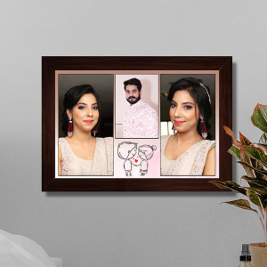 Personalized Sweet Couple Frame