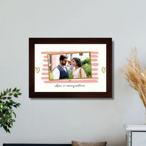 Personalized Love is Everywhere Frame