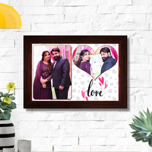 Personalized Love Couple Frame