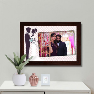 Personalized Couple Wall Frame