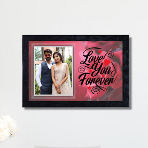 Love you Forever Personalized Frame